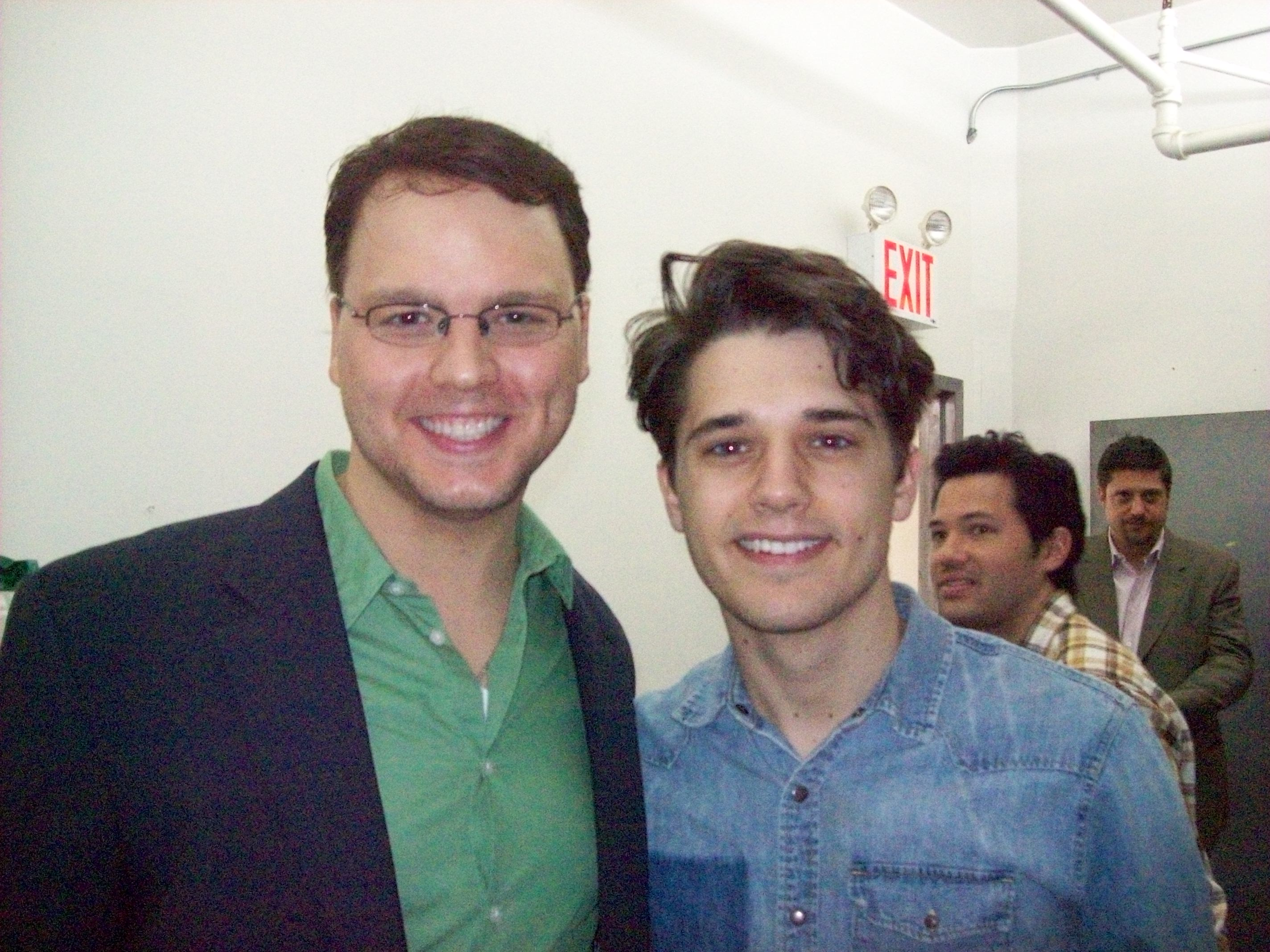 Howard Emanuel & Andy Mientus