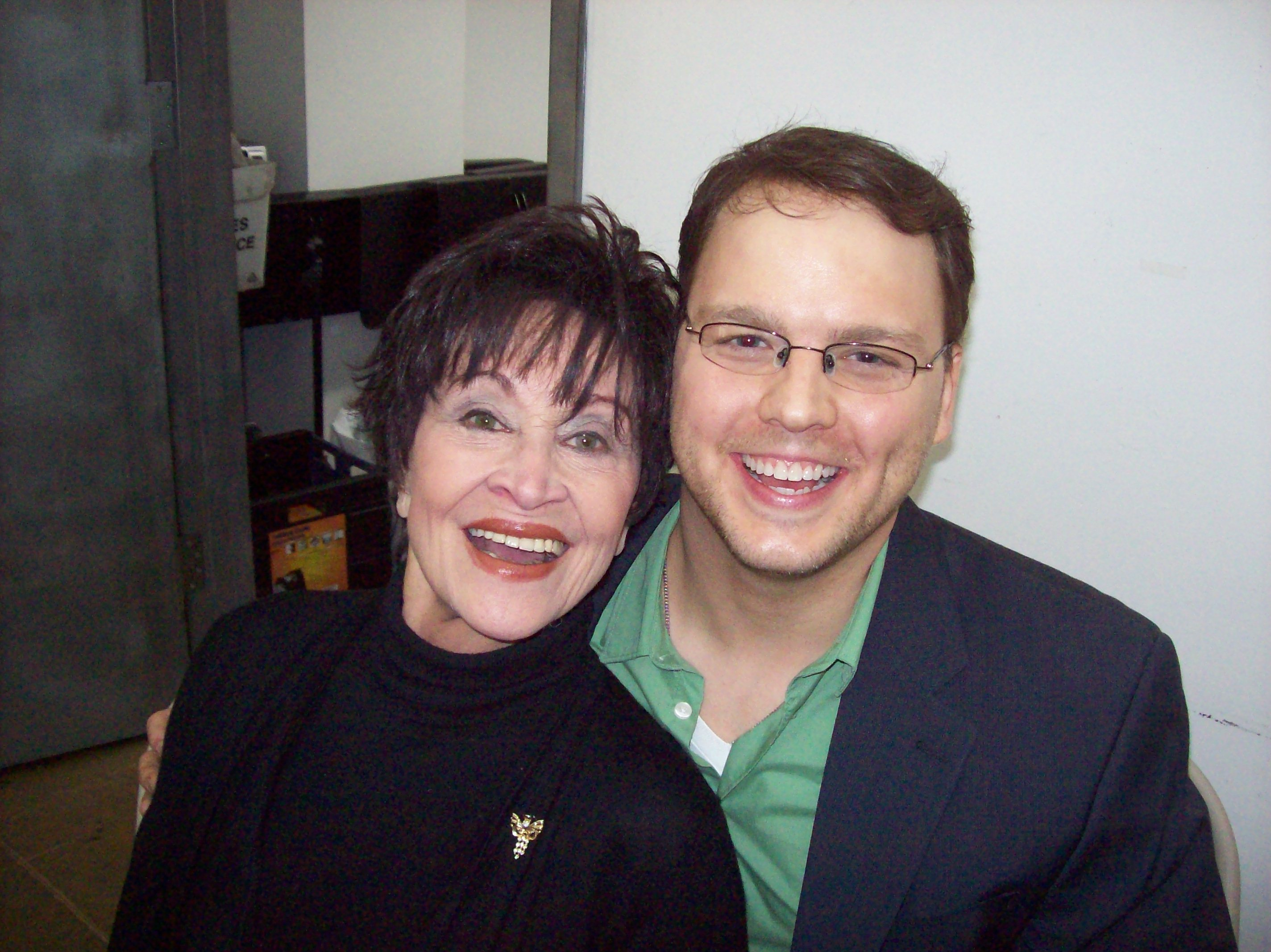 Chita Rivera and Howard Emanuel